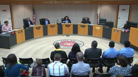 Thumbnail for entry SAUSD Board Meeting March 26, 2019