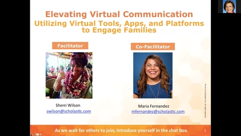 Thumbnail for entry Elevating Virtual Communication Session 2