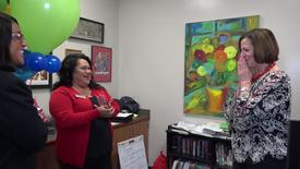 Thumbnail for entry Superintendent Stefanie Phillips, Ed.D. Surprise Visits to Districtwide Educators of the Year, SAUSD