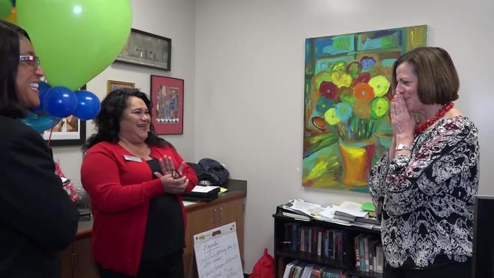 Superintendent Stefanie Phillips, Ed.D. Surprise Visits to Districtwide Educators of the Year, SAUSD