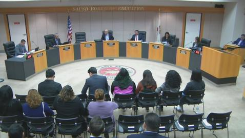 Thumbnail for entry SAUSD Board Meeting February 11, 2020
