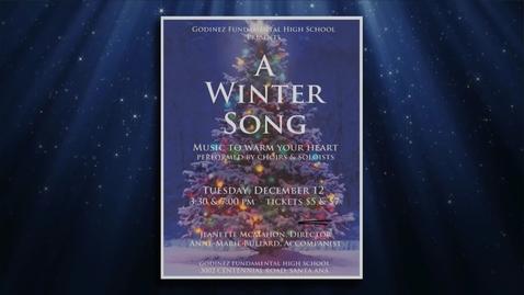 "Thumbnail for entry Godinez Fundamental High School ""A Winter Song"" 2017"
