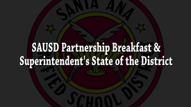 Thumbnail for entry SAUSD Parnership Breakfast 2017