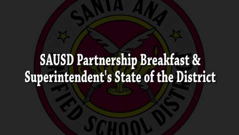 SAUSD Partnership Breakfast 2017