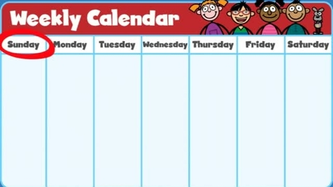 Thumbnail for entry Calendar Days