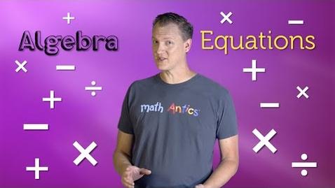 Thumbnail for entry Algebra Basics: Solving 2-Step Equations - Math Antics - Quiz