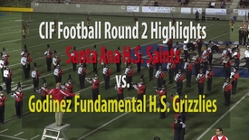 Thumbnail for entry Santa Ana H.S. vs. Godinez Fundamental H.S. Highlights (from 11-17-17 CIF Round 2)