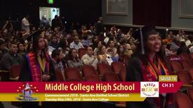 Thumbnail for entry Middle College H.S. Commencement 2018 Part 1 [SAUSD-TV]