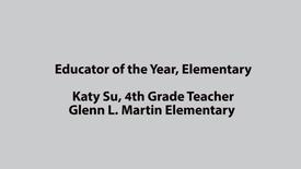 SAUSD Educator of the Year 2017, Katy Su Martin Elementary