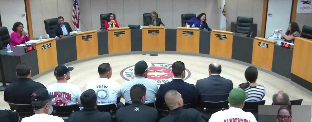 SAUSD Board Meeting September 11, 2018