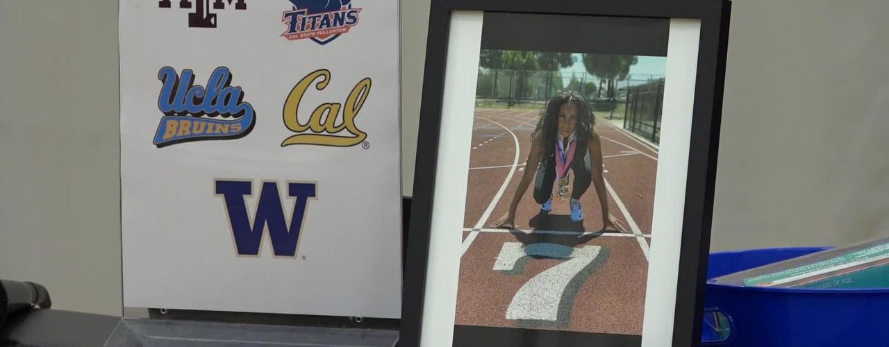 Nyree Brown College Signing Day at Segerstrom H.S. [SAUSD-TV]