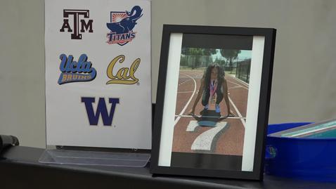 Thumbnail for entry Nyree Brown College Signing Day at Segerstrom H.S. [SAUSD-TV]