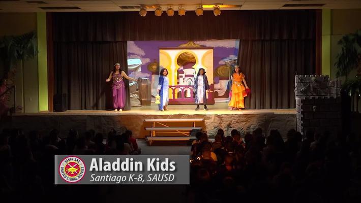 Aladdin Kids at Santiago K-8 2018