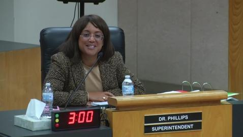 Thumbnail for entry Superintendent Stefanie Phillips, Ed.D. Report to SAUSD School Board, November 13, 2018