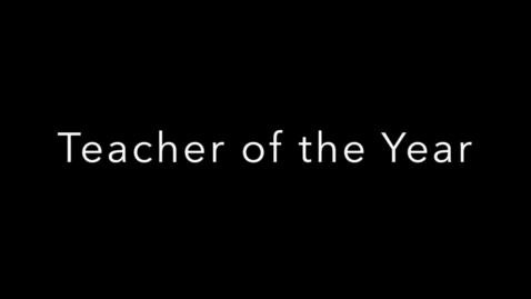 Thumbnail for entry GFHS Marting Teacher of the Year April 18, 2018