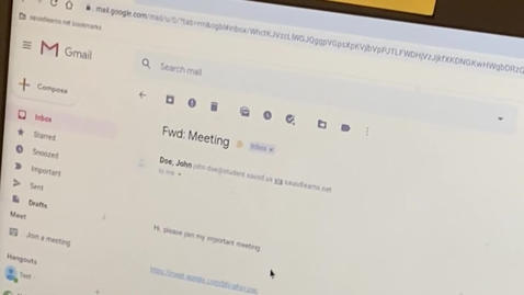 Thumbnail for entry Accessing Google Meet and Using Meet Features