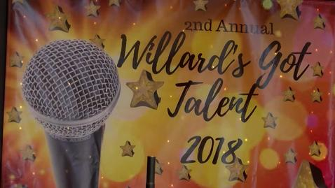 Thumbnail for entry Willard's Got Talent - 2018 [SAUSDTV]