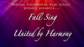 Thumbnail for entry 2017 Godinez Fundamental High School Fall Sing