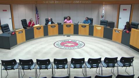 Thumbnail for entry SAUSD Special Board Meeting July 09, 2019