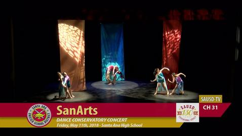 Thumbnail for entry SanArt Dance Conservatory Concert