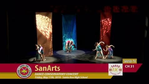 Thumbnail for entry SanArt Dance Conservatory Concert