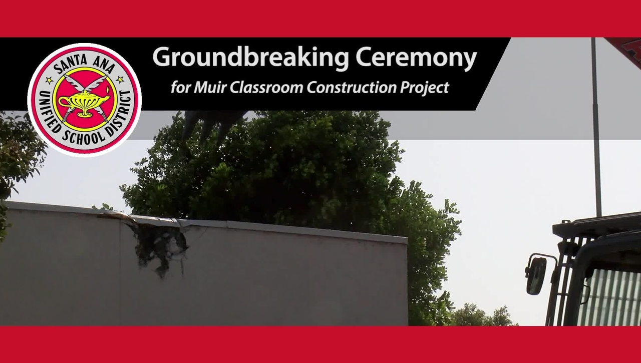 John Muir Fundamental Groundbreaking Ceremony