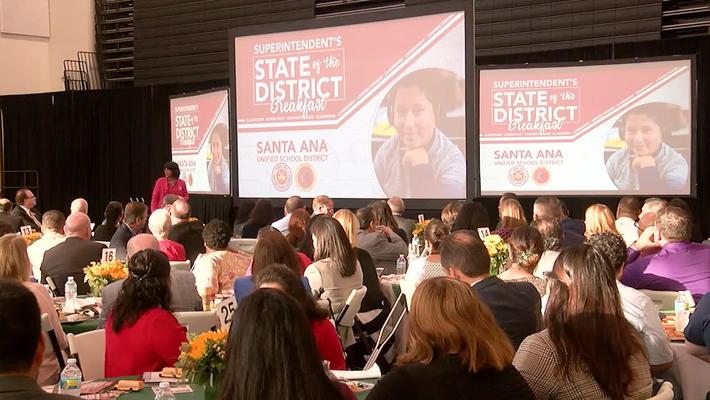 SAUSD Superintendent Stefanie Phillips, Ed.D. State Of The District 2017