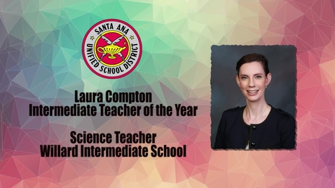 Thumbnail for entry Teach of the Year 2017 Laura Compton