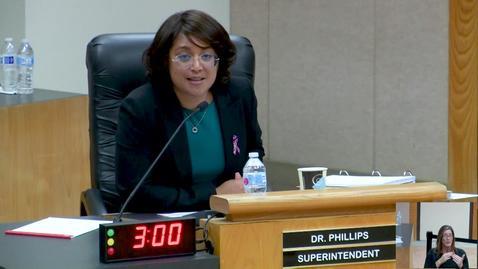 Superintendent Stefanie Phillips, Ed.D. Report to SAUSD School Board, April 10, 2018