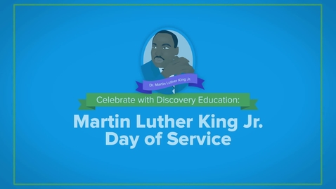 Thumbnail for entry Martin Luther King Jr Day of Service