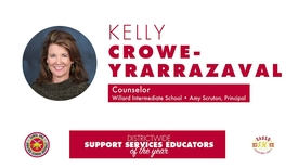 Thumbnail for entry Intermediate Support Services Educator of the Year 2018 Kelly Crowe-Yrarrazaval, SAUSD