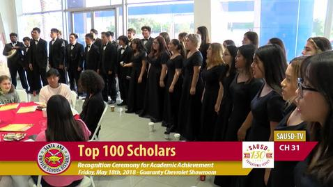 Thumbnail for entry SAUSD Top 100 Scholars Event 2018 [Part 1]