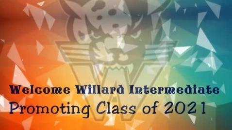 Thumbnail for entry Willard promotion class 2021