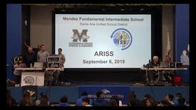Thumbnail for entry ARISS Amateur Radio on the International Space Station Mendez Fundamental Intermediate September 6, 2018