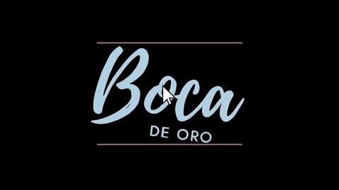 Thumbnail for entry Boca de Oro 2021, Community Libraries