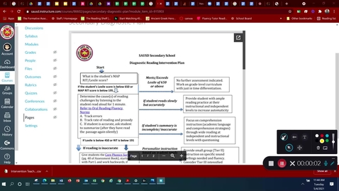 Thumbnail for entry Secondary Diagnostic Reading Plan