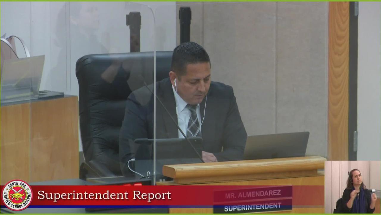 Superintendent Report 02/23/21