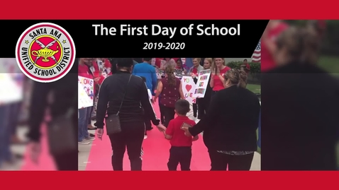 Thumbnail for entry 2019-2020 First Day of School