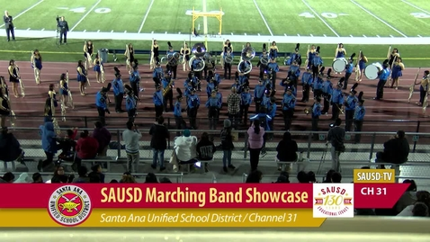 Thumbnail for entry Marching Band Showcase