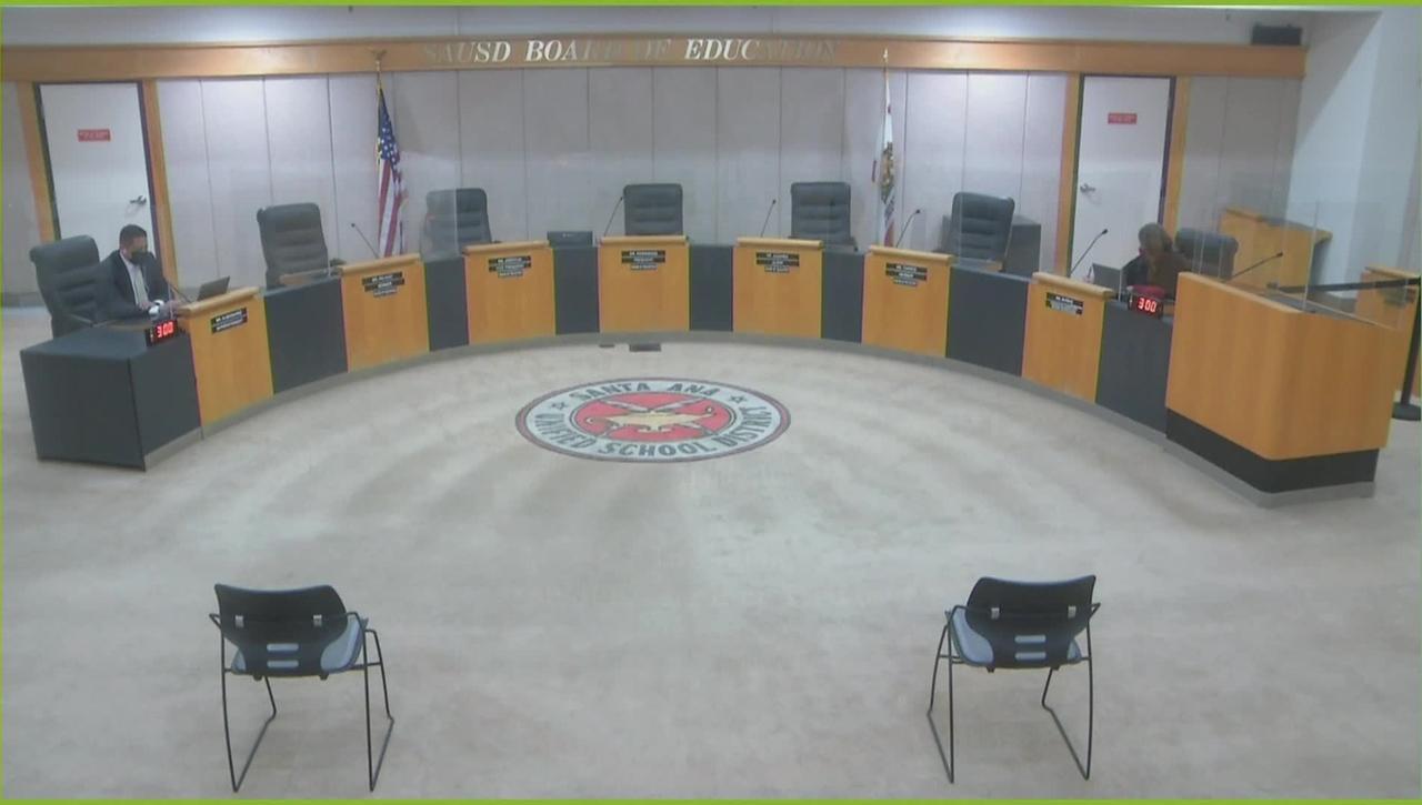 Regular board meeting March 09, 2021