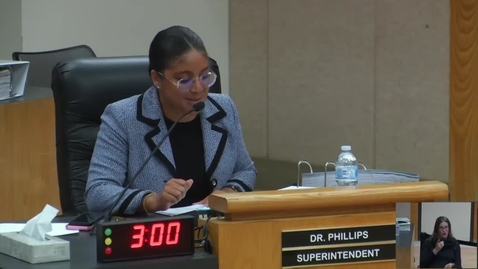 Thumbnail for entry Superintendent Stefanie Phillips, Ed.D. Report to SAUSD School Board, December 11, 2018