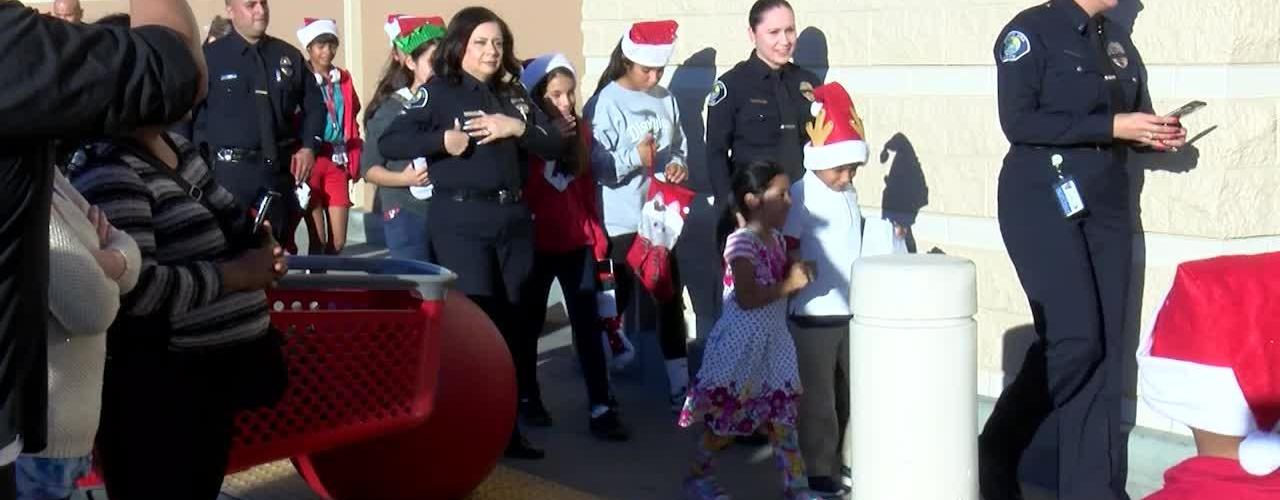 Shop with a Cop Event at Target Santa Ana Police Department 2018