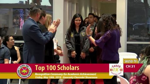 Thumbnail for entry SAUSD Top 100 Scholars Event 2018 [Part 2]