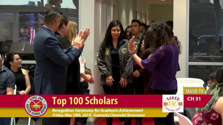 SAUSD Top 100 Scholars Event 2018 [Part 2]
