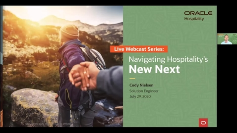 Thumbnail for entry Navigating Hospitality's New Next: Create A Touchless Hotel Guest Experience   North America Webcast   July 29, 2020