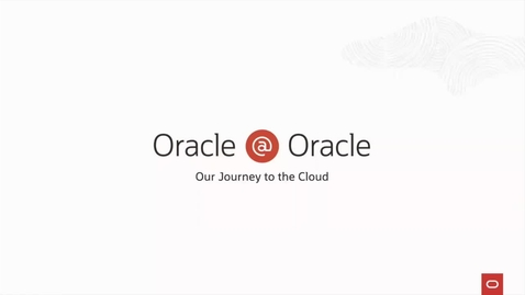 Thumbnail for entry How Oracle Runs Its NextGen SaaS on Oracle Cloud Infrastructure