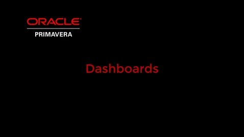 Thumbnail for entry Project Dashboards