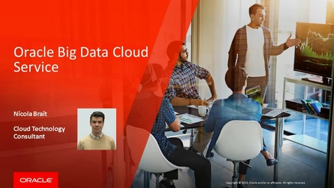 Oracle Big Data Cloud Service - English version