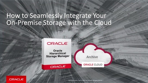 How to Integrate On-Premise Storage with the Cloud