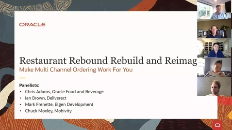 Thumbnail for entry Restaurant Rebound Rebuild and Reimagine: Make Multi Channel Ordering Work For You